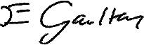 Liz Gaulton Signature